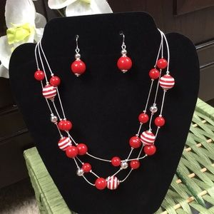Earrings and Necklace Set by Croft & Barrow